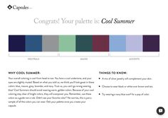 Cladwell capsule wardrobe. Cool Summer