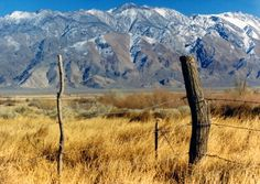 White Mountains, Owens Valley, near Big Pine, CA. This is the area leading to the mountains where we frequently camped and fished when I was growing up.