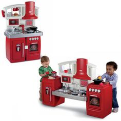 Have you seen the Cook 'n Grow™ Kitchen from #littletikes? - $109.99 It has two stages to grow with your child from toddler to preschooler.