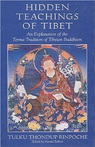 Hidden Teachings of Tibet: An Explanation of the Terma Tradition of Tibetan Buddhism: Tulku Thondup Rinpoche: 9780861711222: Amazon.com: Books  Not positive if we used this book, but I think we did.