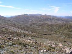 * Monte Kosciuszko *  É o ponto mais alto na Austrália. Localização: Montanhas Nevadas, Parque Nacional Kosciuszko. Nova Gales do Sul. Altitude: 2.228 m.