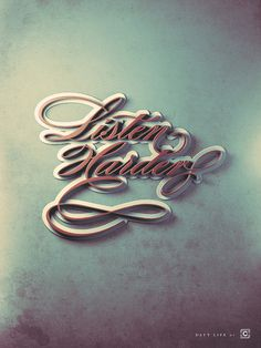 20 Creative Typography Designs Inspiration