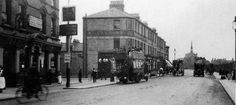1908 Fulham Palace Road, at Greyhound Public House. Vintage London, Old London, Fulham, London Photos, Back In The Day, Over The Years, Palace, Nostalgia, The Past