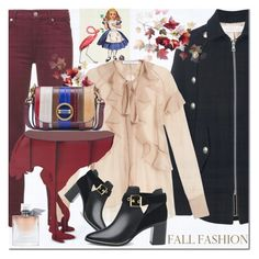 """""""Untitled #1527"""" by elena-777s ❤ liked on Polyvore featuring See by Chloé, Avenida Home, 7 For All Mankind, Givenchy, ibride, Tory Burch, Ted Baker, Lancôme and autumnwinter2016"""