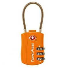 TravelMore TSA Approved Travel Combination Cable Luggage Locks