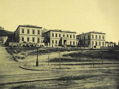 1890 ~ Evangelismos Hospital in Athens Greece Pictures, Old Pictures, Old Photos, Vintage Photos, Greek History, Athens Greece, Back In The Day, Historical Photos, Old World
