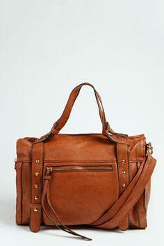 Katie Zip Front Stud Bag