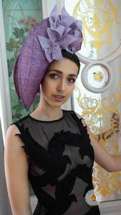 Not a Wallflower, Catherine Storm's entry in 2019 Melbourne International Millinery Competition (MIMC). Selected for Paris catwalk show! Fascinator, Headpiece, Spring Racing, Catwalk, Melbourne, Special Occasion, Competition, Awards, Ruffle Blouse