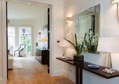 way elegant entrance hall with shelf, extreme orchid of loveliness, lots of lamps