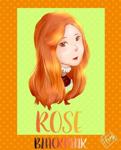 ROSE BLACKPINK FANART