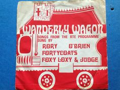 Rare Wanderly Wagon EP late 60's Singing, Songs, Song Books