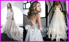 Beautiful unique wedding dress!