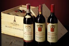 #Brunello #Montalcino Col d'Orcia old vintages vertical pack