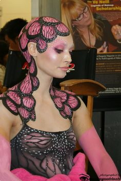 Work by Nelly Recchia. One of my favorite artists at IMATS :)