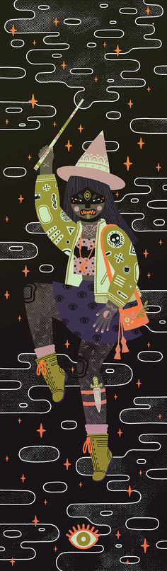 """""""Modern Day Witch"""" by Camille Chew"""