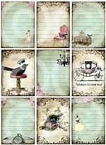 Image result for shabby chic scrapbooking tags