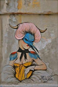 """Artist :Miss Van """"Tel Aviv  """"detail"""