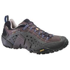 Merrell Intercept Goretex Mens Shoes Brown Footwear Walking Coffee All Sizes | eBay £100