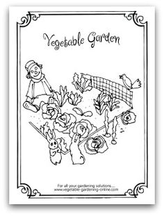 vegetable garden coloring pages | spinach coloring sheets - Bing Images | It's Fresh Spinach ...