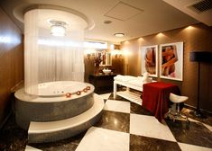 African Pride 15 on Orange by Marriott Hotel Spa by Source Interior Brand Architecture