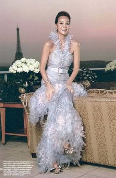 The always glamorous and never aging mother of Enrique Iglesias, Isabel  Preysler.