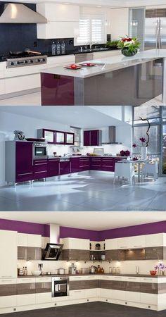Italian Traditional Purple Kitchen Designs - http://interiordesign4.com/italian-traditional-purple-kitchen-designs/