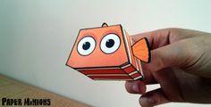 Paper Minions - Nemo Papercraft