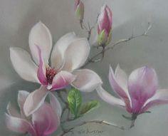 Jill Kirstein | variación floral delicado. Discusión sobre LiveInternet - Servicio de Rusia Diarios Online