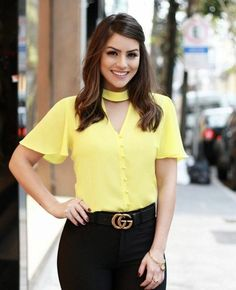 1207 likes 44 comments Mode Outfits, Office Outfits, Casual Outfits, Cute Blouses, Blouses For Women, Teen Fashion, Fashion Outfits, Womens Fashion, Look Office
