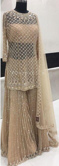 #pintrest@Dixna deol Pakistani Wedding Outfits, Pakistani Dresses, Indian Dresses, Indian Outfits, Hippy Chic, Pakistan Fashion, Lehenga Designs, Desi Clothes, Indian Attire