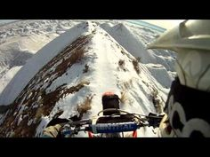 Motocross Bike On Mountain Top – GoPro HD Source by veritablian Top Ride, Gopro Hd, Motocross Bikes, Out Of My Mind, Snowy Mountains, Gif Of The Day, Top Of The World, Extreme Sports, Mountain Biking