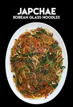 Japchae Recipe & Video – Seonkyoung Longest – Chinesische Rezepte – Home Recippe Korean Sweet Potato Noodles, Korean Glass Noodles, Korean Dishes, Korean Food, Seonkyoung Longest, Longest Recipe, Asian Recipes, Ethnic Recipes, Asian Foods