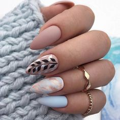 36 amazing natural short almond nails design for fall nails nails . - 36 amazing natural short almond nails design for fall nails nails art ideas # … – 36 amazing na -