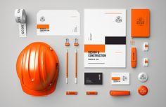 GCOX branding 'design & construction' by Mubien Studio. View this project on Behance (found via creative-branding). Corporate Design, Brand Identity Design, Corporate Identity, Visual Identity, Id Design, Layout Design, Logo Design, Graphic Design, Stationery Design