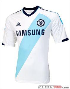 adidas Chelsea Away Jersey 2012-2013...$76.49