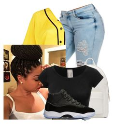 """She finna have a man tonight😍😍"" by issachild ❤ liked on Polyvore featuring interior, interiors, interior design, home, home decor, interior decorating, River Island, PB 0110, likeforlike and l4l"