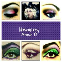 Halloween witch: Makeup by Anna D