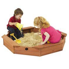 "Toys ""R"" Us - Plum Treasure Beach Wooden Sand Pit"