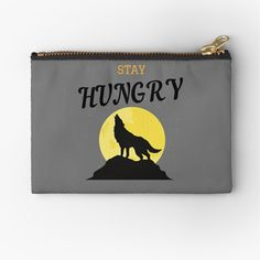 Wolf Design, Zipper Pouch, Cool Stuff, Stuff To Buy, Zip Around Wallet, Printed, Awesome, Products, Art