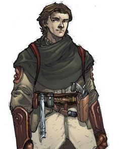 Zayne Carrick, my favorite EU character and my second favorite Star Wars character