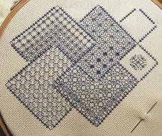 Brodeuse Bressane: Save the Stitches - Blackwork sampler - 1