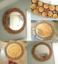 ECO-IDEAS Y RECICLAJE : Espejo decorativo