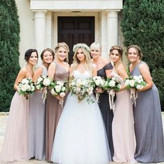This is it! I love this - one in champagne/biscotti, one in petal, one in blue-gray, one in charcoal. Looks amazing with the bouquets.