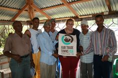 #FairTrade organizer w/ Dominican #coffee farmers.