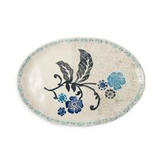 Hand Painted Floral Platter for all the times you entertain so generously Platter, Decorative Plates, Hand Painted, Entertaining, Floral, Gifts, Mothers, Presents, Flowers