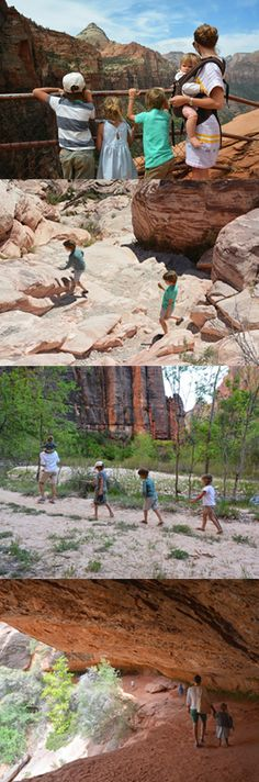 Family trip to the desert: Red Rock Canyon,  Valley of Fire State Park, Hoover Dam,  Zion National Park