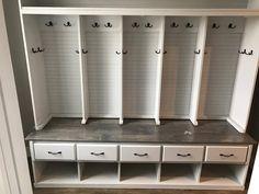 mudroom lockers by BigCreekFurniture on Etsy https://www.etsy.com/listing/450412726/mudroom-lockers