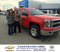 #HappyBirthday to Jeremy Barnett from Neal Carpenter at Central Chevrolet Cadillac!