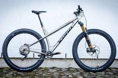 f6f2b8554ff Ti Tuesday: Visa's Ti Honzo. Kona Mountain BikesHardtail Mountain BikeMountain  ...