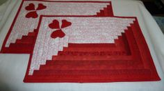 Valentine Heart Placemats